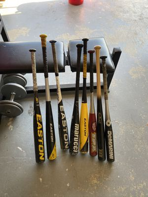 Baseball Bats- $25- $90 each for Sale in Chino Hills, CA