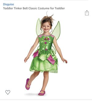 Tinker bell costume for little girls. for Sale in Columbus, OH