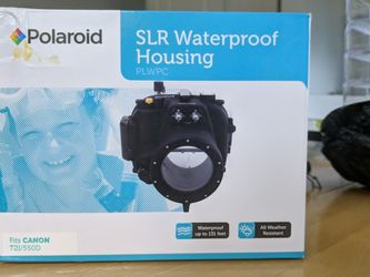 Waterproof Housing For Canon T2i / 550D (By Polaroid) for Sale in Redmond,  WA