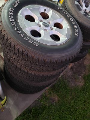 Jeep 18 inch wheels OEM for Sale in Houston, TX