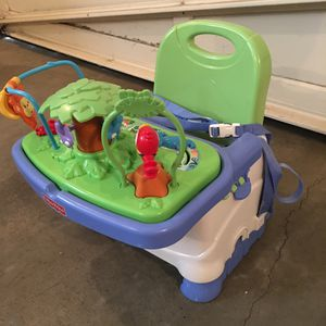 Booster Seat with Tray Toy for Sale in Snohomish, WA