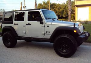 VERY CLEAN1600$ 2OO7 Jeep Wrangler 4WDWheelss EXTREMELY CLEAN! for Sale in Atlanta, GA