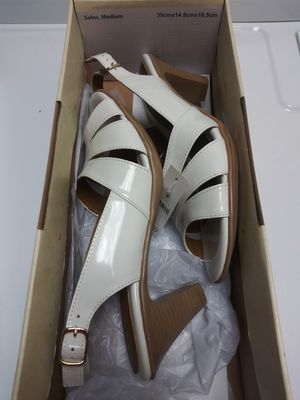 White low heels for Sale in Lithia Springs, GA