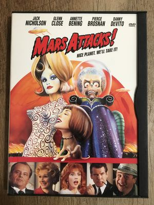 Mars Attacks! on DVD for Sale in Fresno, CA