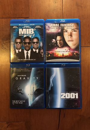 4 Sci-Fi Blu Ray DVDs for Sale in St. Louis, MO