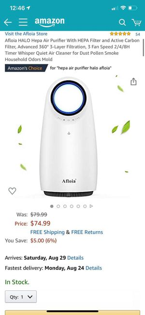 BRAND NEW Air Purifier for Sale in Rosemead, CA