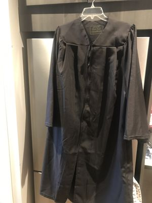 Black graduation gown for Sale in Laurel, MD
