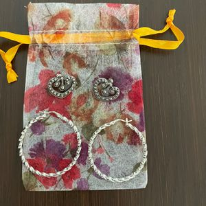 Earrings Set Of 2 for Sale in Lake Worth, FL