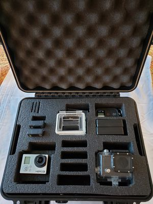 GoPro Hero 3, accessories and protective case for Sale in Anchorage, AK