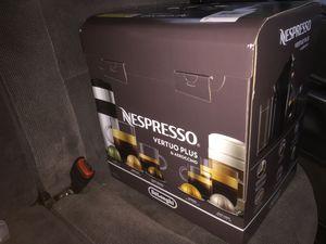 Nespresso vertuo plus coffee machine for Sale in Manchester, CT