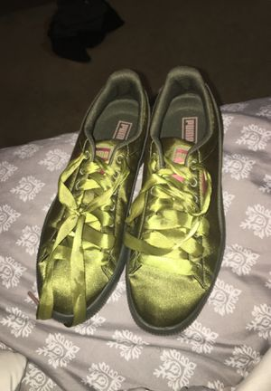 "Puma ""Clyde"" olive green for Sale in Snellville, GA"