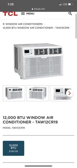12000 BTU window air conditioner for Sale in Bell Gardens, CA