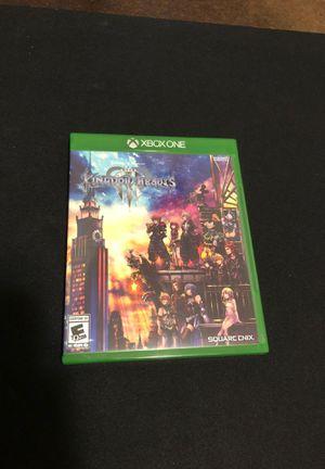 Nearly mint Kingdom Hearts 3 Xbox One for Sale in Everett, WA