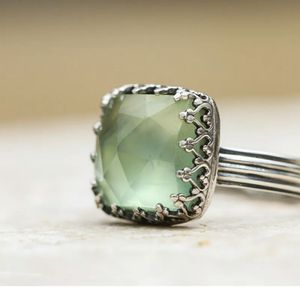 New CZ Peridot Moonstone Wedding Ring Size 8 for Sale in HOFFMAN EST, IL