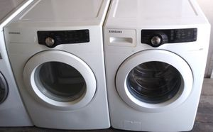 Samsung front loader washer and gas dryer set for Sale in West Hollywood, CA