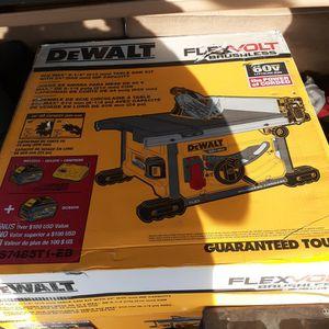 Dewalt Flexvolt Table Saw. for Sale in San Pablo, CA