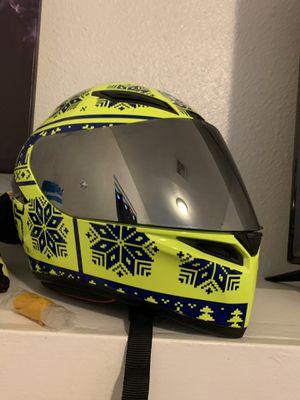 Valentino Rossi Helmet with Silver mirrored visor for Sale in Redondo Beach, CA