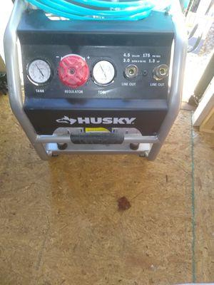 Portable silent air compressor Husky $180 for Sale in Eldersburg, MD