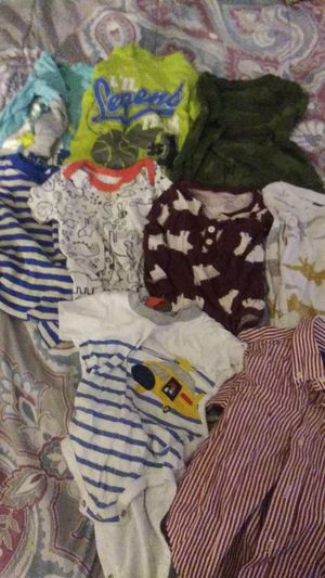 9mo -2t assorted shirts & onesies for Sale in Burtonsville, MD