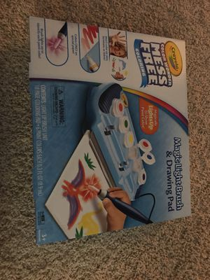 Crayola Color Wonder Magic Light Brush & Drawing Pad, Mess Free Painting for Sale in Ashburn, VA