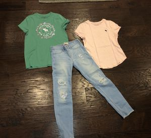 Abercrombie And Fitch girls clothing size 11-12 yrs for Sale in Mill Creek, WA