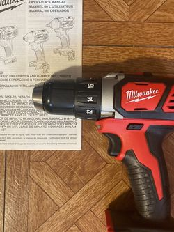 "Milwaukee. M18 Lithium Ion 2-Speed 1/2""Cordless Compact Drill Driver (Tool Only)'. 2606-20. for Sale in Brooklyn,  NY"