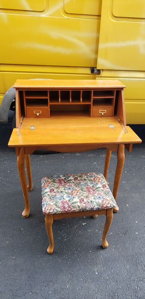 Secretary Desk and Stool for Sale in Washington, DC