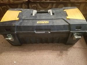 Irwin tool box for Sale in Jacksonville, FL
