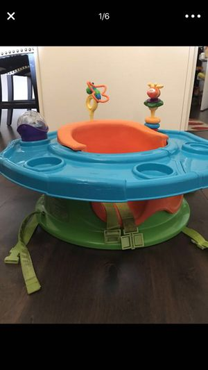 Play seat + booster for Sale in Franklin, TN