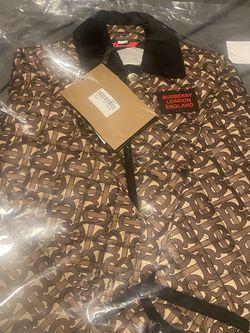 BURBERRY BROWN MONOGRAM QUILTED JACKET KIDS for Sale in Grand Terrace,  CA