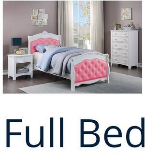 FULL BED MATTRES NOT INCLUIDED NEW IN BOX FINANCIAMIENTO DISPONIBLE FRAME ONLY for Sale in Santa Ana, CA