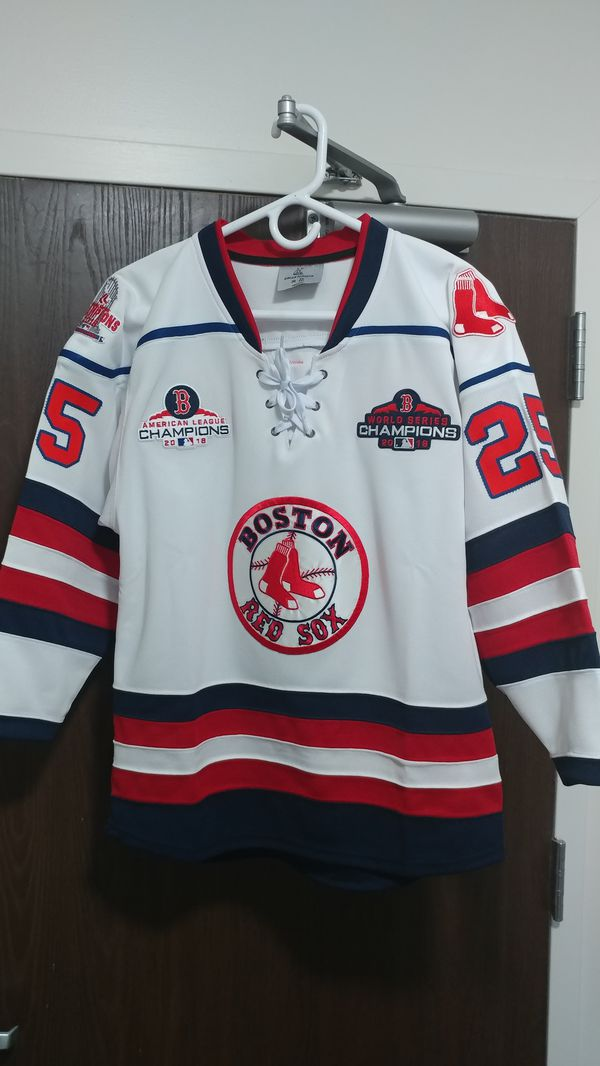 Boston Red Sox hockey jerseys