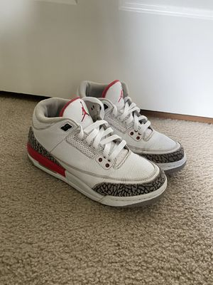 "Jordan retro 3 ""hall of fame"" size 7Y for Sale in Issaquah, WA"