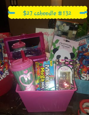 Teen caboodle easter basket for Sale in Las Vegas, NV