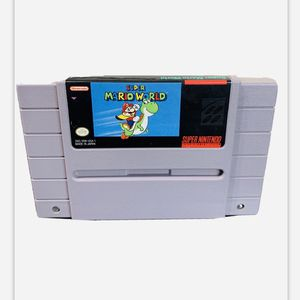 SUPER MARIO WORDL YOSHI ! SUPER NINTENDO GAME EXCELLENT WORKING CONDITION ! for Sale in Seal Beach, CA