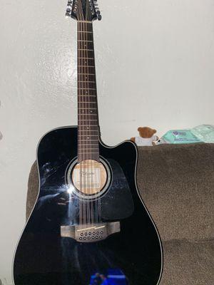 Takamine 12-string guitar for Sale in Tulare, CA