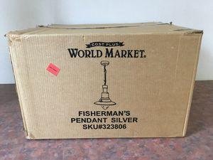 World Market Fisherman's Pendant Lamp for Sale in Hazel Park, MI