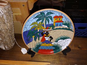 Old ceramic plate for Sale in Carson City, NV