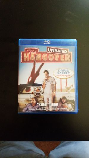 The Hangover Blue Ray DVD for Sale in Albany, OR