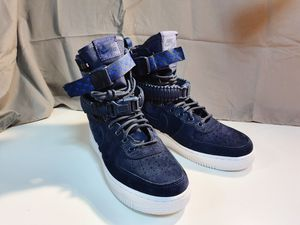 Nike Air SF AF1 Navy shoes Men's sz 7/ women's sz9 for Sale in San Jose, CA