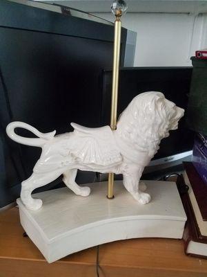 Vintage Porcelain Carasoul Lion for Sale in Fairfax, VA