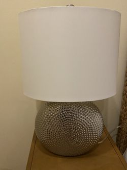 Modern Silver Lamp for Sale in Fort Lauderdale,  FL