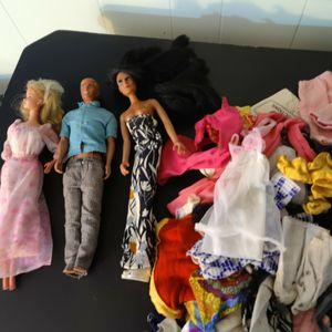 1968 Barbie N Ken Doll. a1970s Sher Doll. for Sale in St. Petersburg, FL