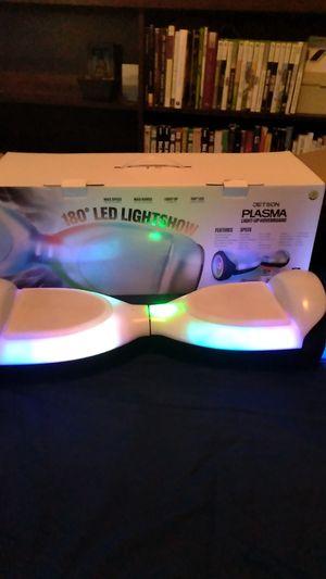180⁰ led lightshow jetson plasma hoverboard for Sale in Houston, TX
