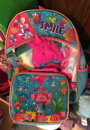 Trolls backpack for Sale in Houston, TX