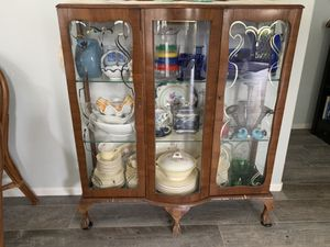 Antique China cabinet for Sale in Carlsbad, CA