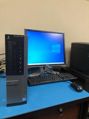 Desktop Package w/ 6GB Ram, Intel i3, MS Office, Monitor, Windows 10 Pro 64bit for Sale in Vancouver, WA