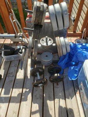 Weights and bench for Sale in Salt Lake City, UT