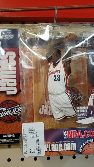 Lebron James Action Figure for Sale in Dallas, TX