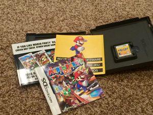 Mario Party DS, Complete! for Sale in San Antonio, TX